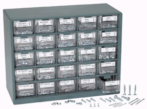 1001 PIECE NUT AND BOLT STOREHOUSE�