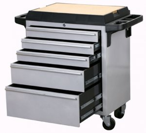 5 Drawer Rolling Toolbox  made by STOREHOUSE