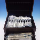 Grande Regency by International Sterling Silver Flatware Set Dinner Size 12 New