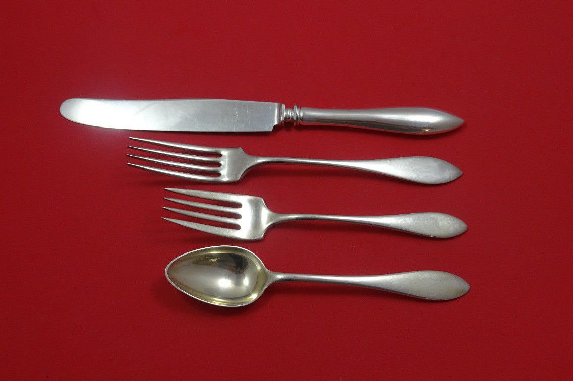 Lafayette by Towle Sterling Silver Regular Size Place Setting(s) 4pc