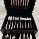 Laureate by Towle Sterling Silver Flatware Set For 8 Service 43 Pieces