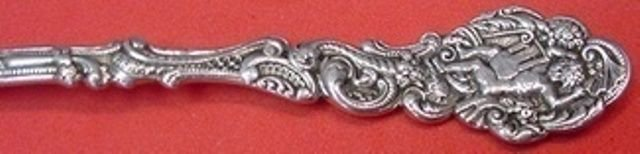 """Versailles by Gorham Sterling Silver Fish Fork Gold Washed 6 3/4"""""""