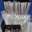Camellia by Gorham Sterling Silver Flatware Set For 12 Service 68 Pcs New Place