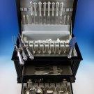 Lenox by Durgin Sterling Silver Flatware Set For 8 Dinner Service 109 Pcs Huge