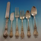 Violet by Whiting Sterling Silver Flatware Set For 8 Service 48 Pieces