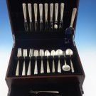 Camellia by Gorham Sterling Silver Flatware Set For 8 Service 43 Pieces