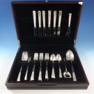 Craftsman by Towle Sterling Silver Flatware Set For 6 Service 30 Pieces