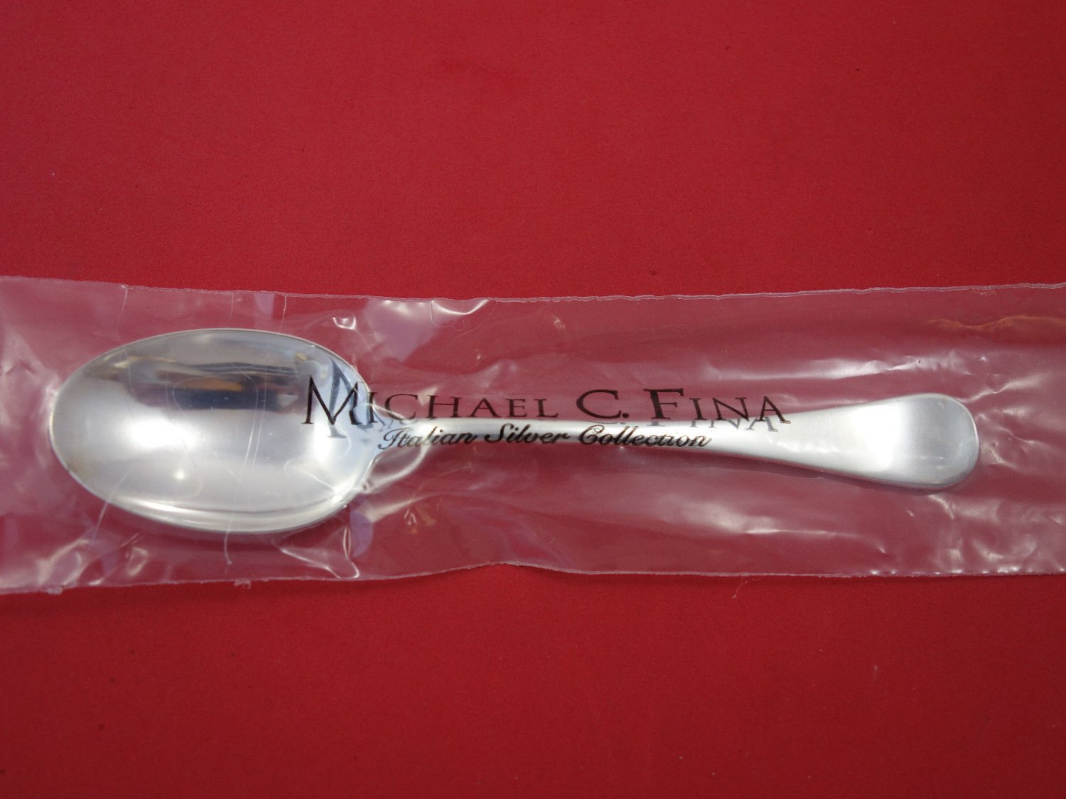 "Spagnolo By Zaramella Argenti Sterling Silver Place Soup Spoon 6 1/2"" New"