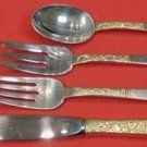 Golden Scroll by Gorham Sterling Silver Place Size Place Setting(s) 4pc