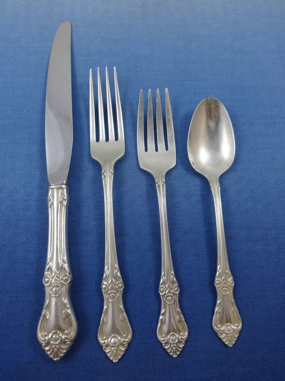 Afterglow by Oneida Sterling Silver Flatware Set For 6 Service 24 Pieces