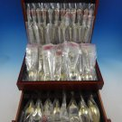 Strasbourg by Gorham Sterling Silver Flatware Set 12 Service 93 Pcs Place New