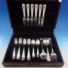 Colonial by Tiffany and Co. Sterling Silver Flatware Service For 6 Set 32 Pieces