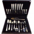 Farifax by Durgin-Gorham Sterling Silver Flatware Service For 6 Set 53 Pieces