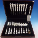 Carrollton by Stieff Sterling Silver Flatware Service For 8 Set 35 Pieces