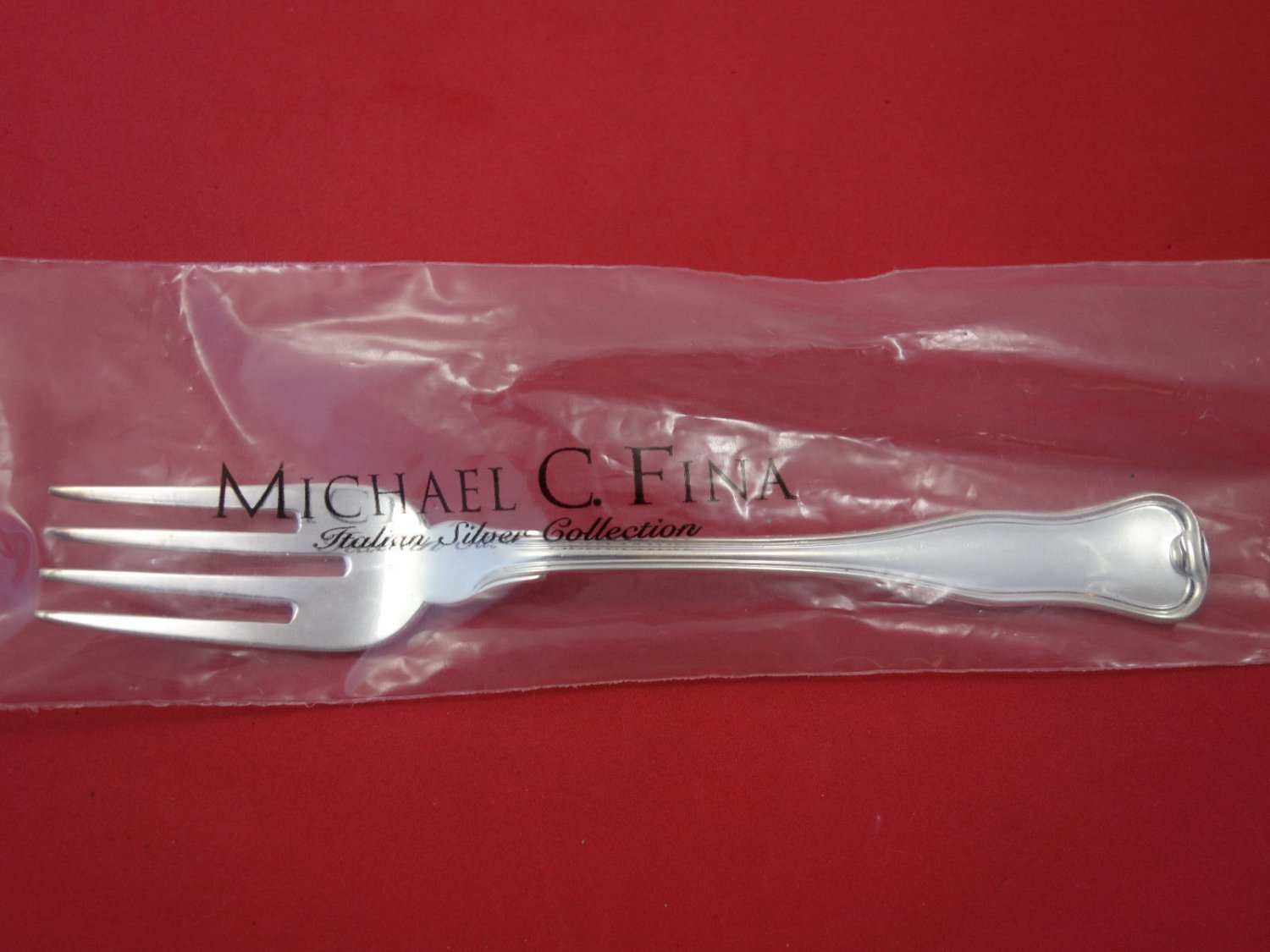 "Danese By Zaramella Argenti Sterling Silver Salad Fork 6 3/4"" New"