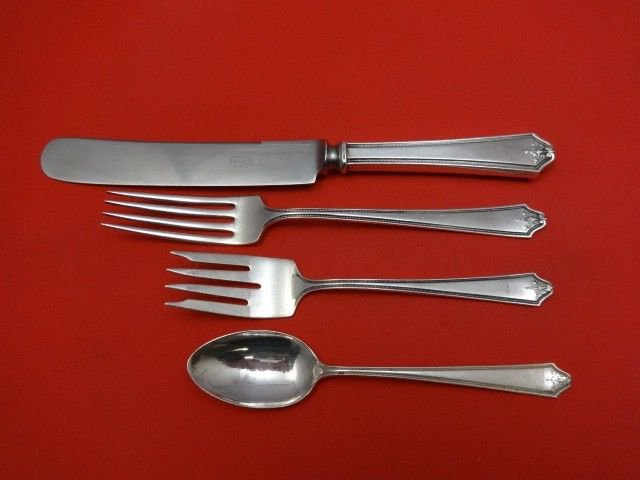 Rosalind New by International Sterling Silver Regular Size Place Setting(s) 4pc