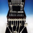 Prince Eugene by Alvin Sterling Silver Flatware Set 8 Service 61 Pcs Dinner Size