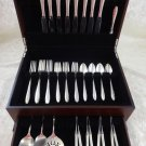 Lasting Spring by Oneida Sterling Silver Flatware Set For 8 Service 44 Pieces