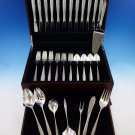 Spanish Lace by Wallace Sterling Silver Flatware Set for 12 Service 56 Pieces
