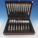 Medici New by Gorham Sterling Silver Flatware Set Service 48 Pieces