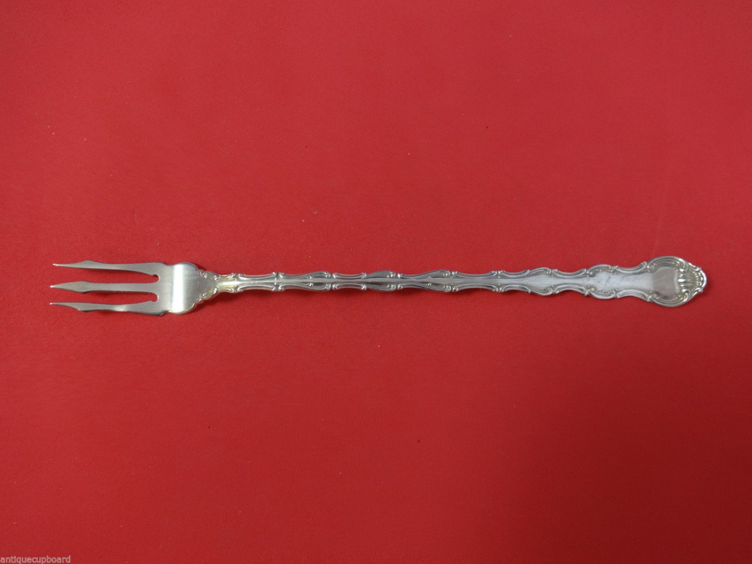 Strasbourg by Gorham Sterling Silver Pickle Fork 3-Tine Long 8 1/4""