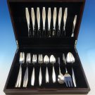 Diamond by Reed and Barton Sterling Silver Flatware Set For 8 Service 36 Pcs Mod