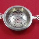 Roden Sterling Silver Tea Strainer with Pierced Handle 4 3/4""