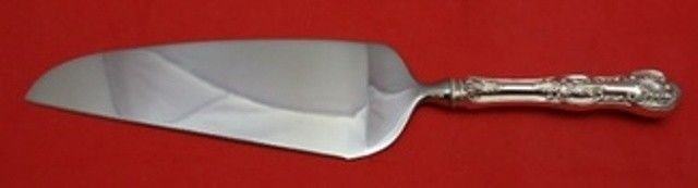 Kings by Wallace Sterling Silver Pie Server HH w/Stainless Custom Made 10 1/2""