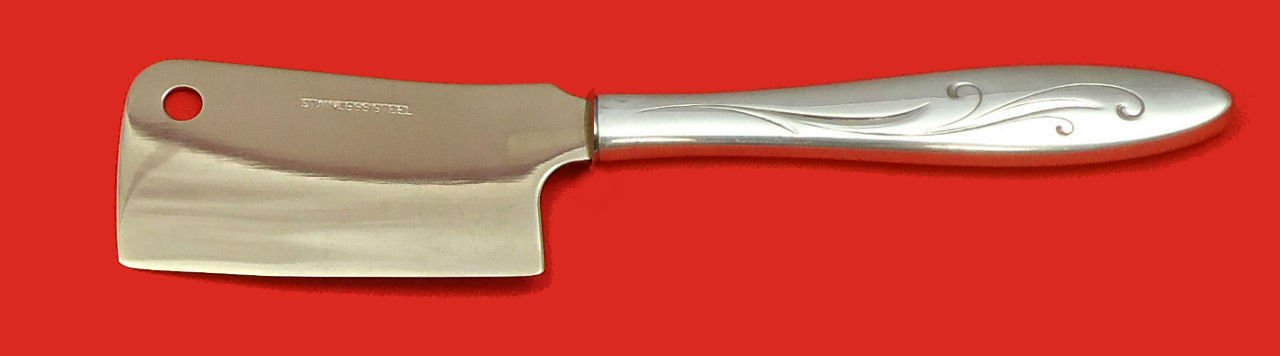 Awakening by Towle Sterling Silver Cheese Cleaver HHWS  Custom Made 6 1/2""