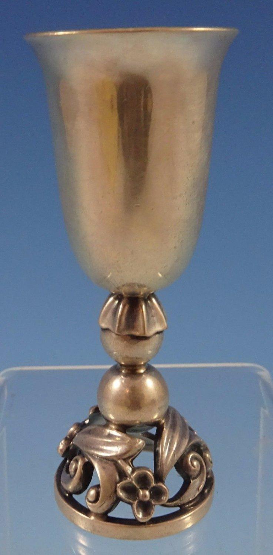 "La Paglia by International Sterling Silver Cordial Cup #100 3 1/8"" X 1"" (#1208)"