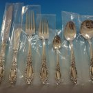 King Richard by Towle Sterling Silver Flatware Set For 8 Service 60 Pieces