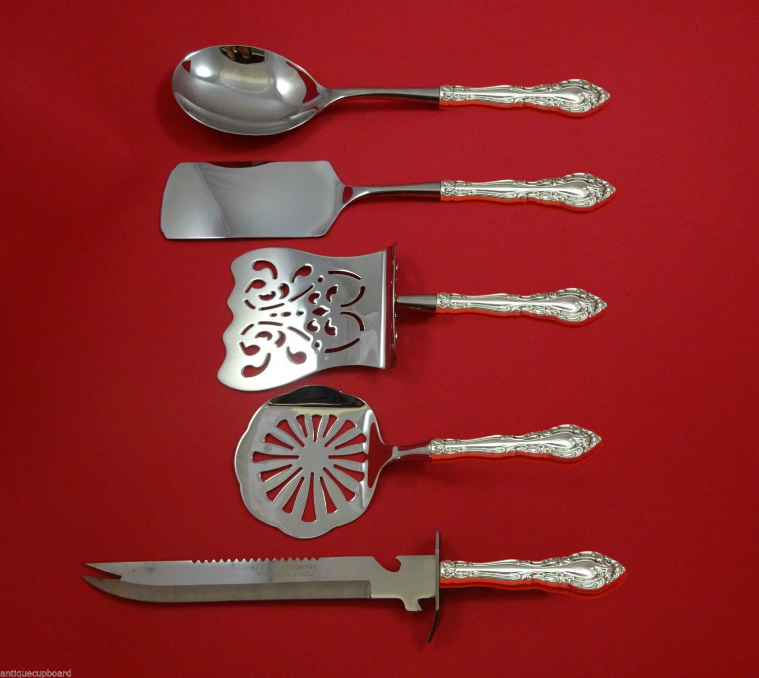 Baronial New by Gorham Sterling Silver Brunch Serving Set 5pc HHWS  Custom