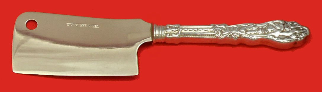 """Versailles by Gorham Sterling Silver Cheese Cleaver HHWS  Custom Made 5 1/2"""""""