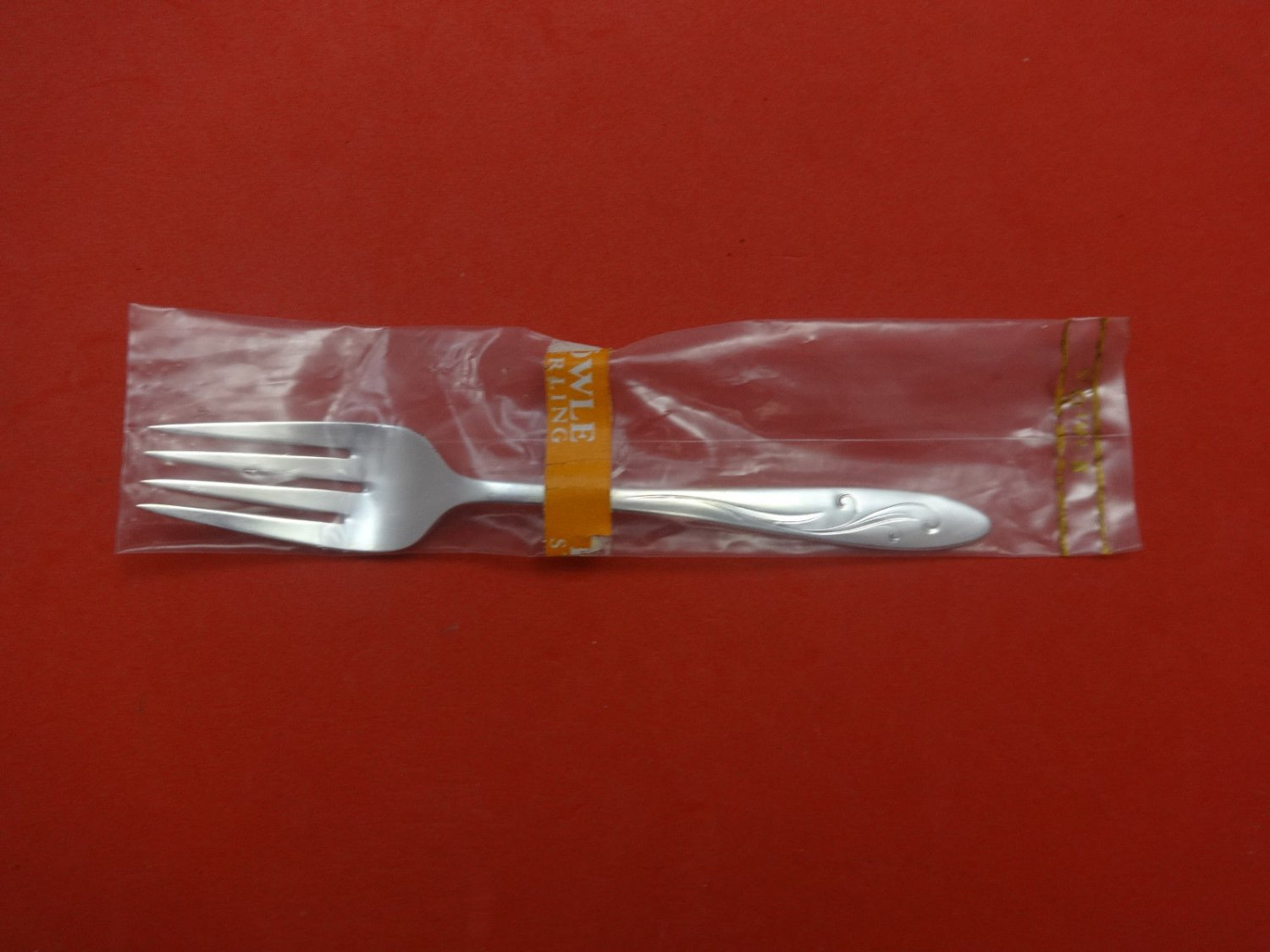 "Awakening by Towle Sterling Silver Salad Fork 6 1/2"" New"
