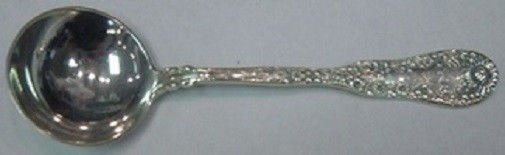 """Number 10 Ten by Dominick & Haff Sterling Silver Bouillon Soup Spoon 5 1/2"""""""