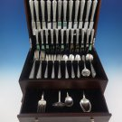Normandie by Wallace Sterling Silver Dinner Flatware Set For 12 Service 76 Pcs