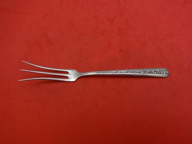 Rambler Rose by Towle Sterling Silver Lemon Fork 5 1/2""