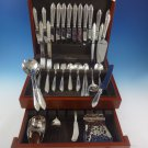 Oxford by Reed & Barton Sterling Silver Flatware Set For 8 Service 87 Pcs Scarce