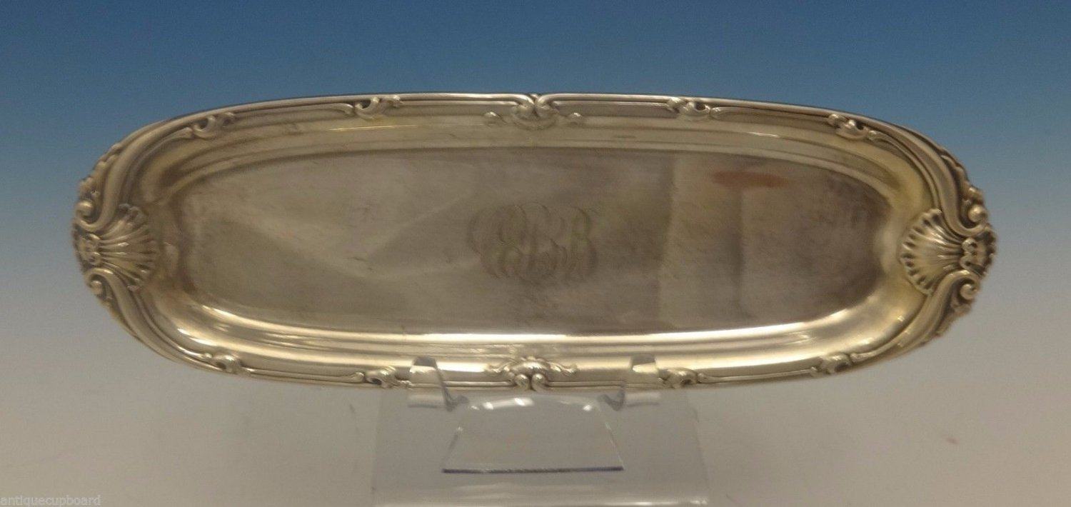 "Imperial Queen by Whiting Sterling Silver Pin Tray 7 3/4"" X 2 1/2"" (#0446)"