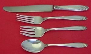 Prelude by International Sterling Silver Dinner Size Place Setting(s) 4pc