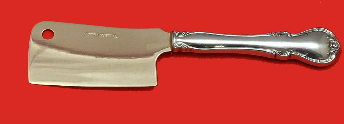 French Provincial by Towle Sterling Silver Cheese Cleaver HHWS  Custom 6 1/2""