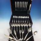 Stradivari by Wallace Sterling Silver Flatware Set For 8 Service 57 Pieces