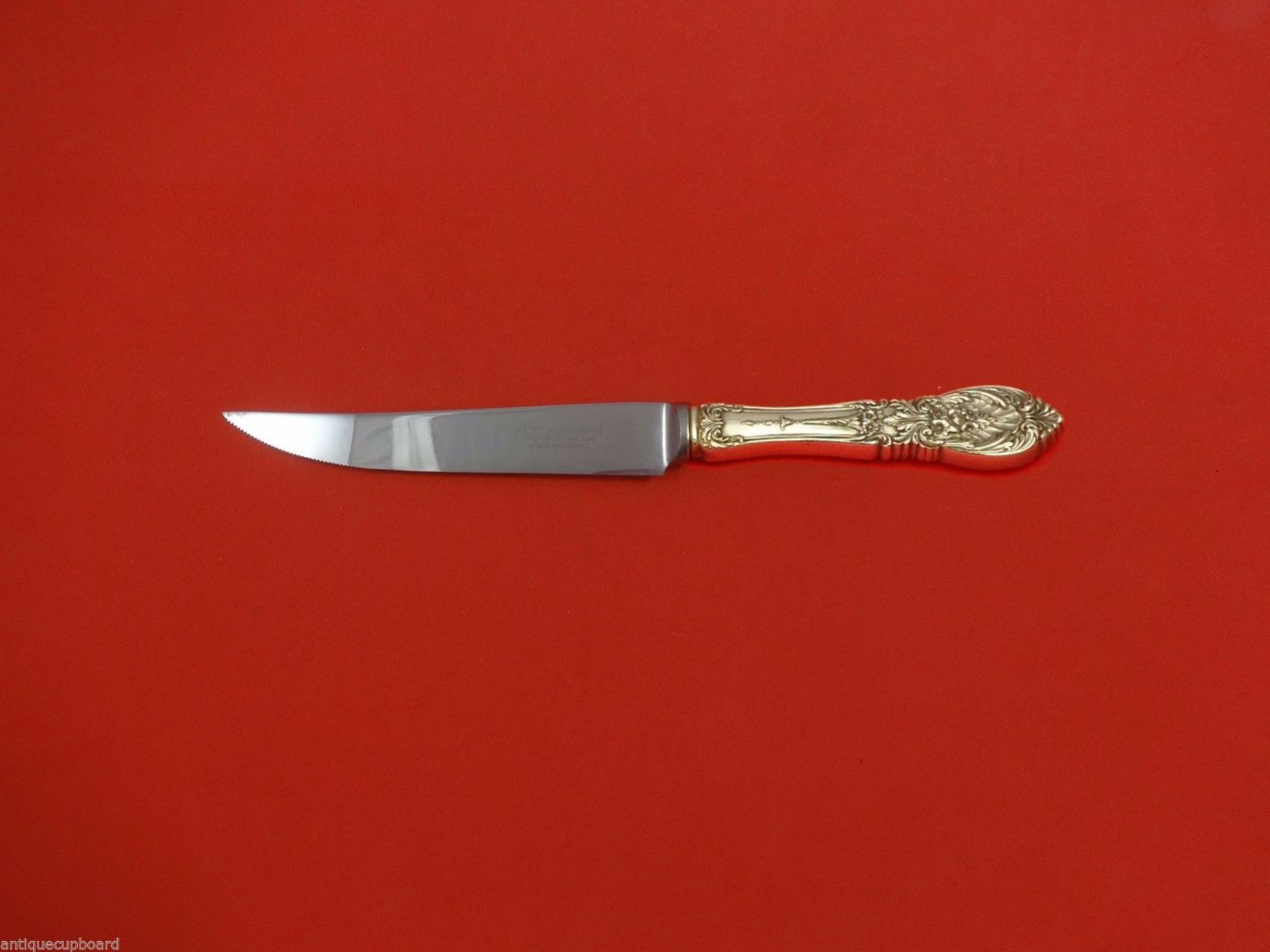 Richelieu by International Sterling Silver Steak Knife HHWS  Custom 8 1/2""