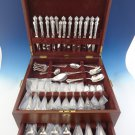 Florentine by Tiffany & Co Sterling Silver Flatware Set For 12 Service 103 Pcs