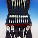 Martinique by Oneida Sterling Silver Flatware Set for 8 Service 37 pieces