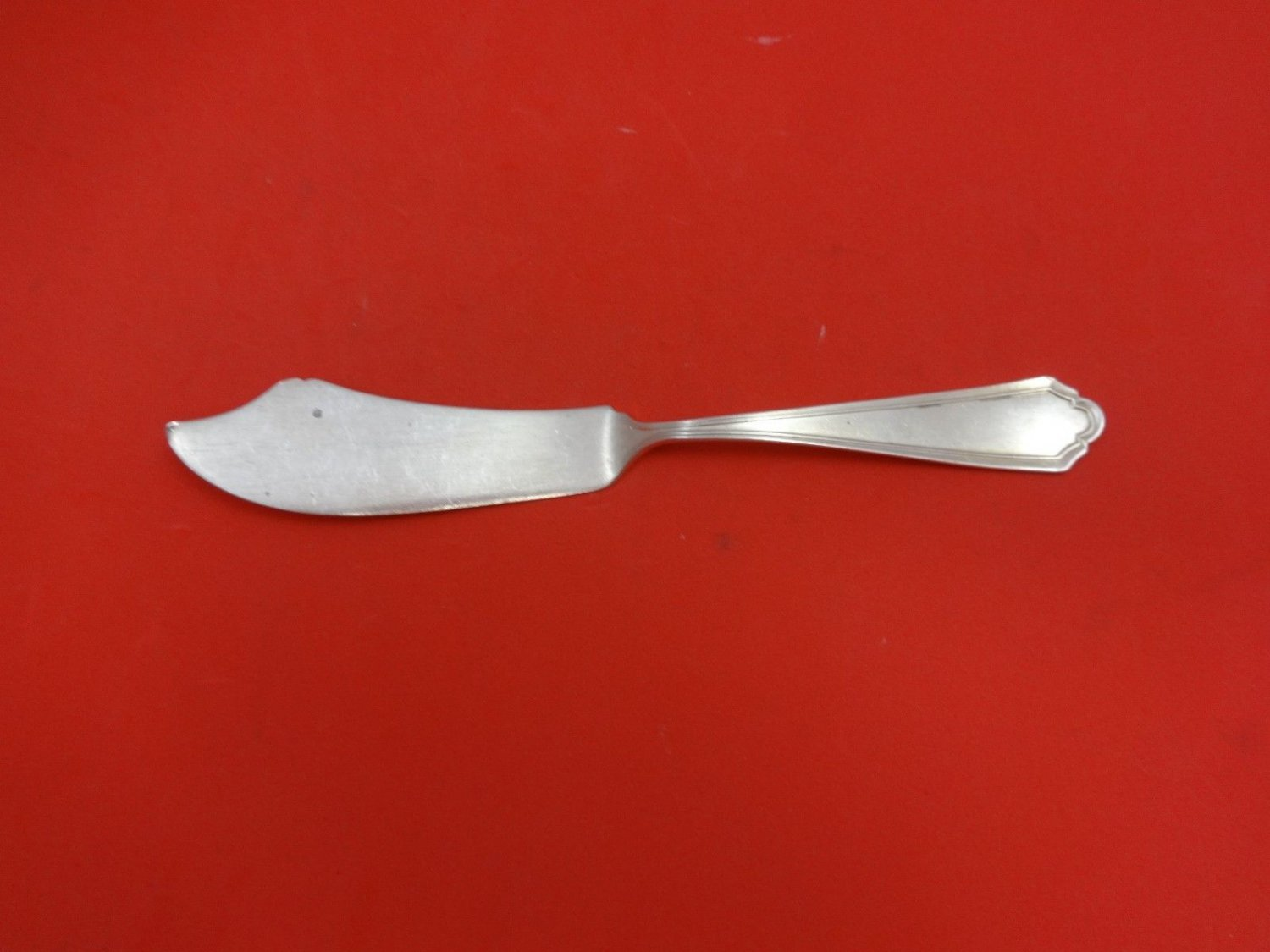 Hamilton by Alvin Sterling Silver Master Butter Flat Handle 6 1/2""