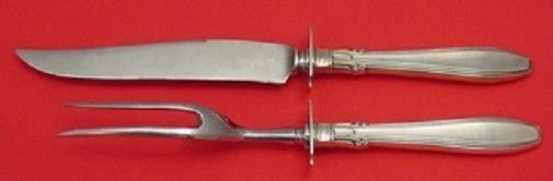 Nocturne by Gorham Sterling Silver Steak Carving Set 2pc 10 1/4""