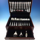 Belvedere by Lunt Sterling Silver Flatware Set For 12 Service 51 Pieces