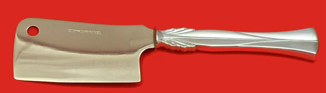 """Queen Christina - Wings by Frigast Sterling Silver Cheese Cleaver  Custom 6 1/2"""""""