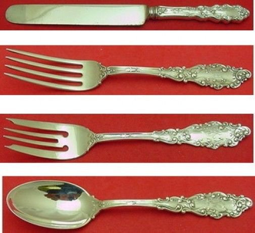 Luxembourg by Gorham Sterling Silver Regular Size Place Setting(s) 4pc